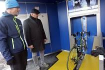 Otevření cykloveže u přerovského nádraží