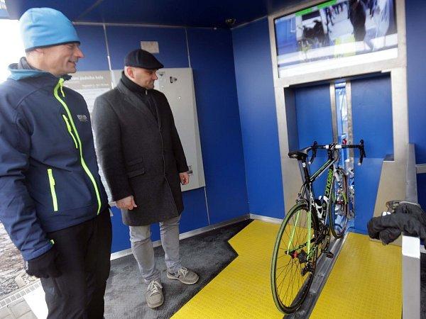Otevření cykloveže upřerovského nádraží