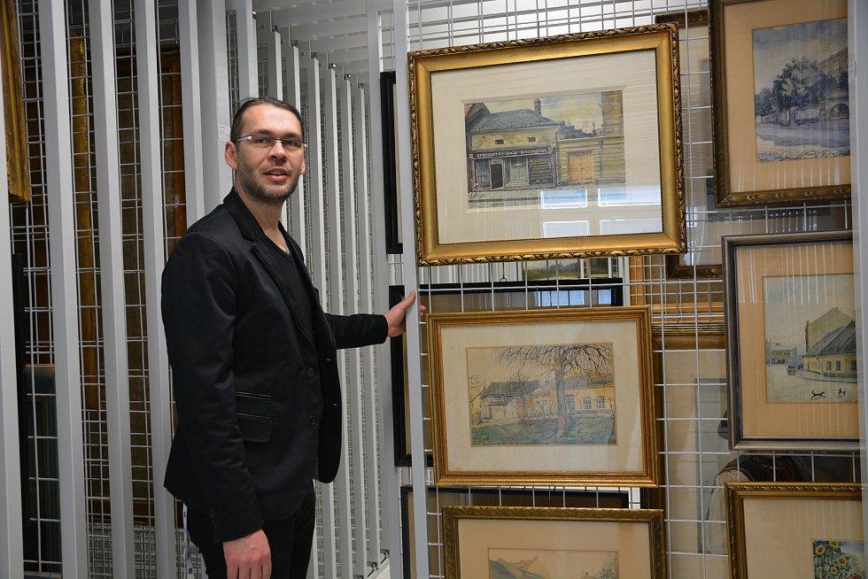 Nový depozitář Muzea Komenského v Přerově, který vznikl po rekonstrukci budovy školy na nábřeží Edvarda Beneše