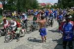 Osmý ročník závodů mopedů a fichtlů v Radslavicích