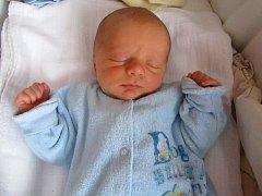 Matyáš Breda, Přerov, narozený dne 1. ledna 2016 v Přerově, míra: 46 cm, váha: 2710 g