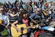 Velká kytarová párty u přerovských hradeb