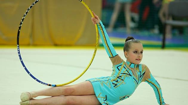 Sezona moderních gymnastek přerovského Spartaku je v plném proudu