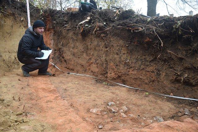 Archeologický objev části vápenických pecí v Přerově