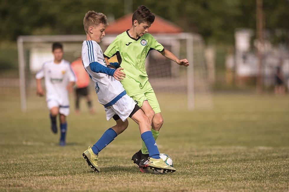 Žákovský memoriál v Želatovicích.  FC Fastav Zlín - 1. FC Viktorie Přerov