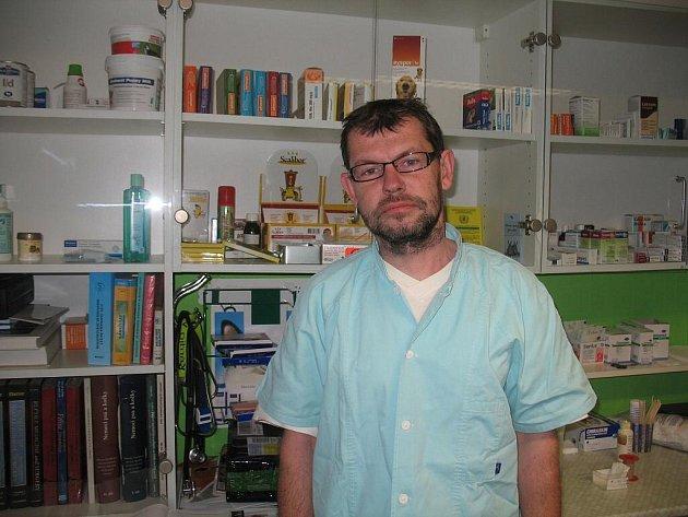 Přerovský veterinář Radim Kopřiva