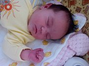Agáta Klvaňová, Malhotice, narozena dne 26. května v Přerově, míra 49 cm, váha 3900   g