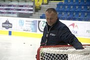 Hokejová reprezentace se poprvé pod vedením trenéra Miloše Říhy sešla v Přerově.