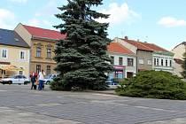 Náměstí v Kojetíně