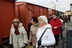 Legiovlak na přerovském nádraží