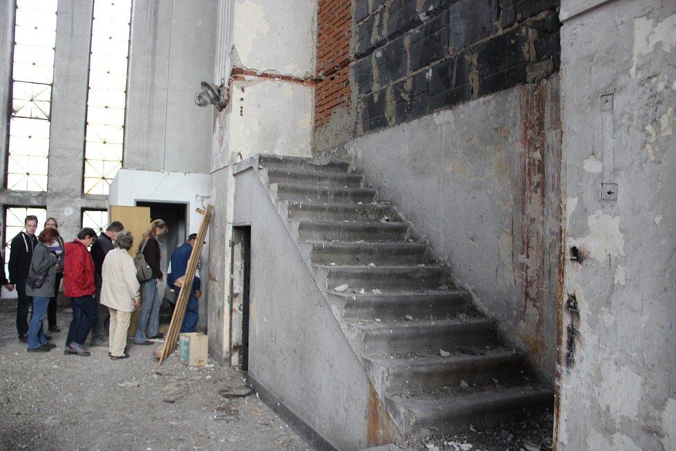Areál někdejší městské elektrárny si mohli prohlédnout zájemci v rámci Dne architektury před pěti lety.