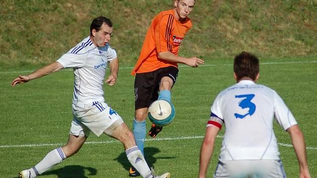 Odehran zpasy mustev - FK Kozlovice