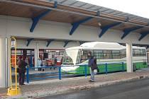Nové autobusové nádraží v Přerově