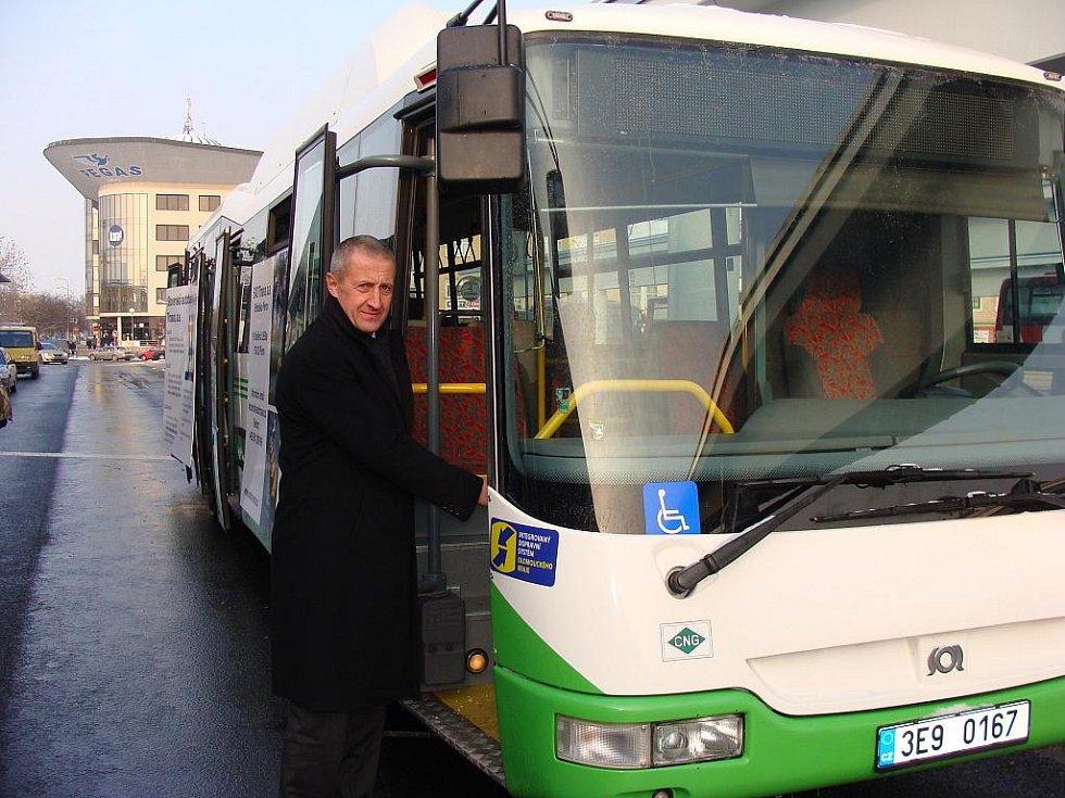Otevření nového autobusového nádraží v Přerově