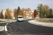 Želatovská ulice v Přerově: nový kruhový objezd a výstavba nové budovy supermarketu