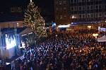Rozsvícení vánočního stromu 2019 v Přerově