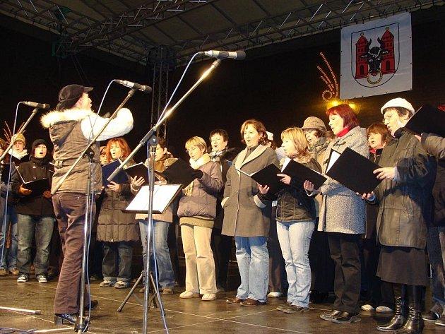 Vánoční program na náměstí v Přerově. Ilustrační foto