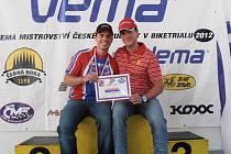 Přerovští biketrialisté Pavel (vlevo) a Adam Procházkovi.