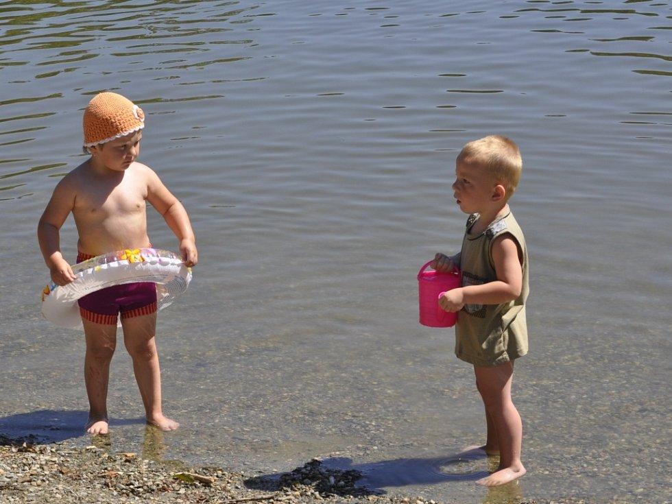 Koupání na Laguně v Přerově