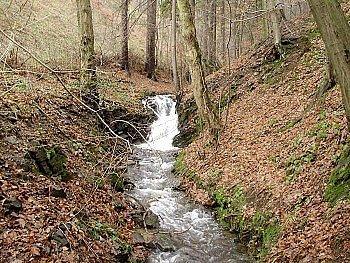 Vodopády vOderských vrších