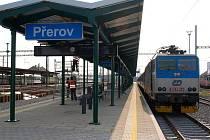 Vlakové nádraží v Přerově. Ilustrační foto