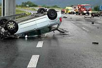 Tragická srážka na silnici 47 u Lipníku nad Bečvou