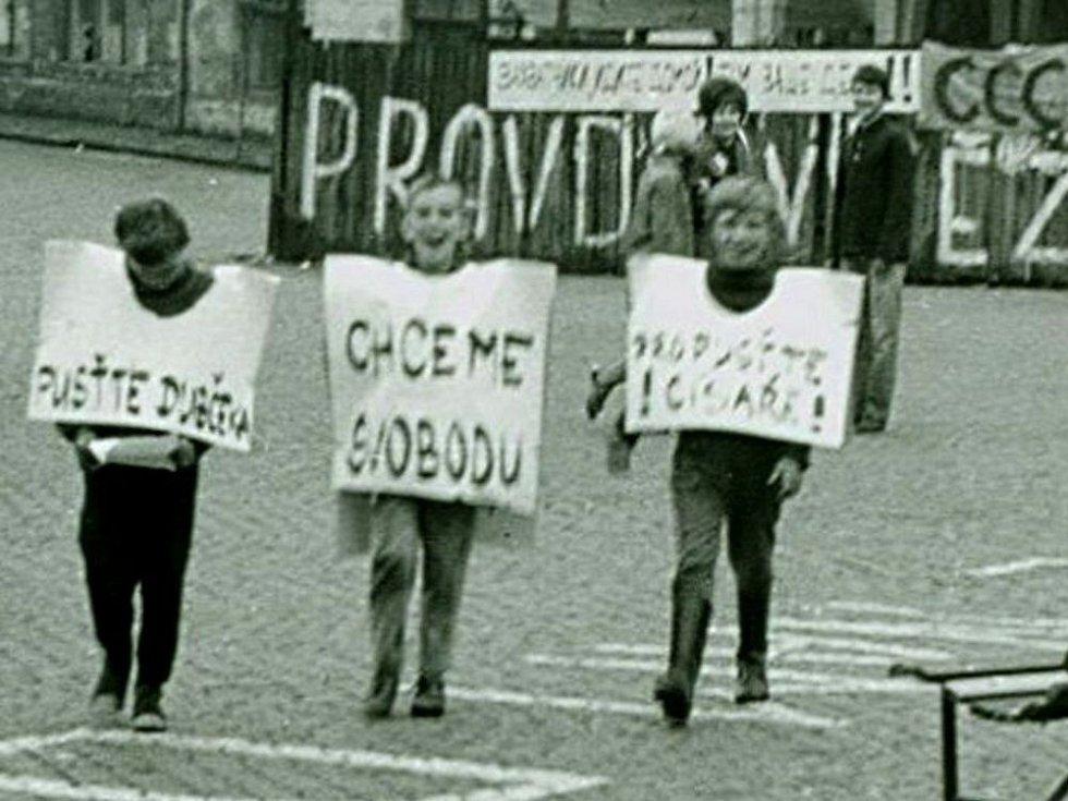 Vpád sovětských vojsk do Přerova v srpnu 1968