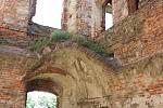 Prezentace zastřešení paláce na hradě Helfštýn