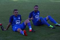 Přípravné utkání mezi FK Kozlovice a MFK Vyškov.