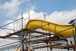 Přerovské venkovní koupaliště se dočká šestadvacet metrů dlouhého tobogánu. Jeho návštěvníci ho budou moci vyzkoušet na začátku července