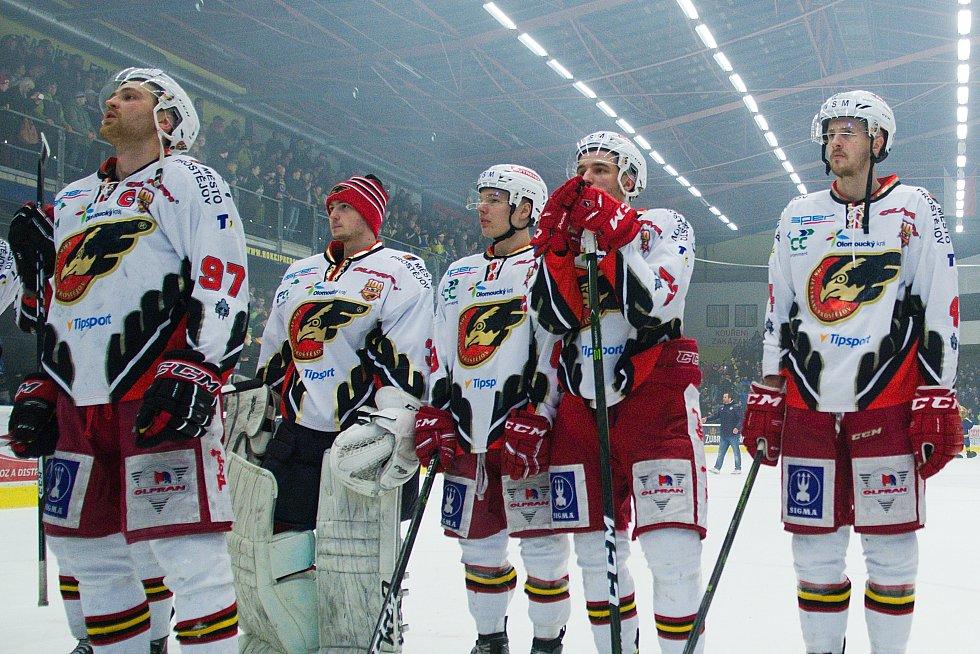 Hokejisté Prostějova po čtvrtém zápase předkola play-off v Přerově končí sezonu