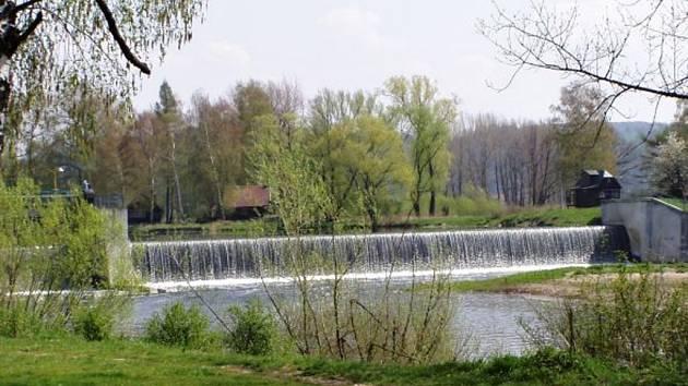 Jez v Oseku nad Bečvou. Ilustrační foto