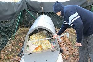 Iglú pro bezdomovce v Přerově. Ilustrační foto