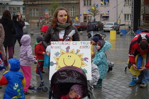 Protestní pochod proti spalovně vPřerově