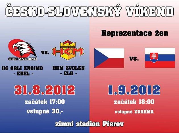 Československý hokejový víkend v Přerově