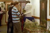 Expozice Masaryk v umění a ve vzpomínkách v Kojetíně