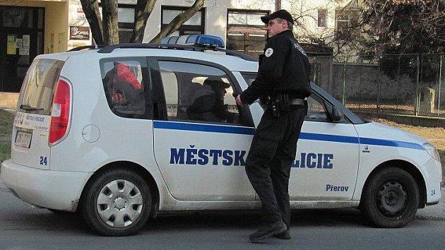 Přerovská městská policie. Ilustrační foto