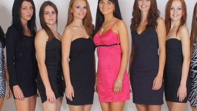 Finálistky Miss Model v Přerově