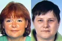 Pohřešované ženy: Jarmila Tomášová a Petra Kovaříková