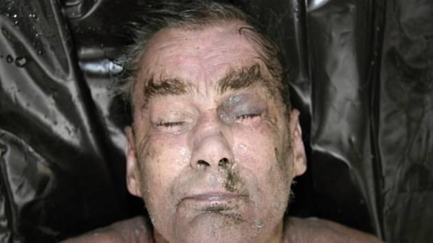 Mrtvý muž z rybníka v Tovačově