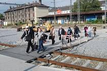 Rekonstrukce vlakového nádraží v Přerově. Ilustrační foto