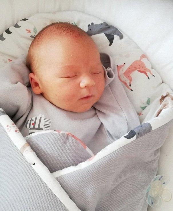 Filip Mišelnický, Vítonice, narozen 24. června 2020 v Přerově, míra 51 cm, váha 3826 g