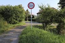 Propustek v Kovářské ulici v Popovicích u Přerova