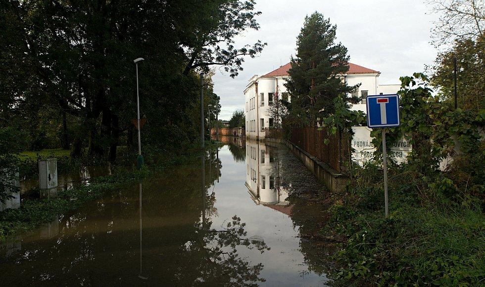 Brodek u Přerova dopoledne 15.10.2020.
