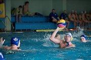 Vodní pólisté Přerova v domácím bazénu proti SK UP Olomouc