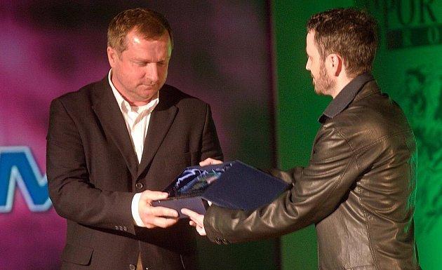 Nejúspěšnější sportovec roku 2010 města a okresu Přerov - galavečer s vyhlášením výsledků - kouč Plzně Pavel Vrba (vlevo)