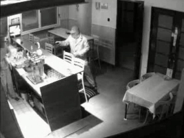 Ozbrojená loupež vrestauraci vulici Brabansko vPřerově