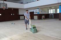 Nová podlaha v přerovské sokolovně