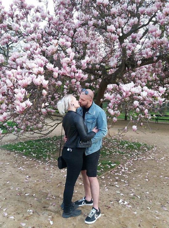 První máj v přerovském parku Michalov, 1. 5. 2021
