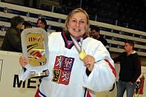 Radka Lhotská, hokejová reprezentantka